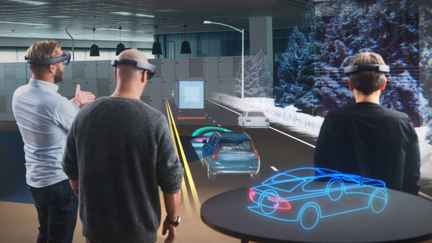 Microsoft HoloLens and Volvo Cars
