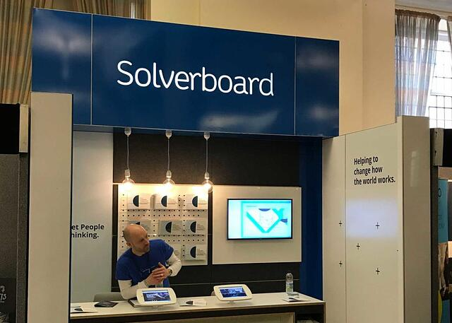 Solverboard stand