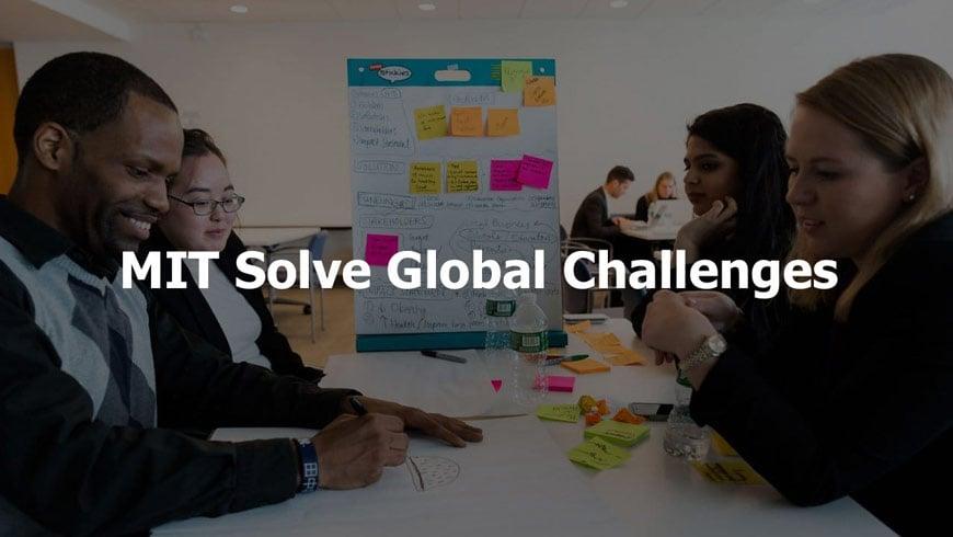 MIT Solve Global Challenges