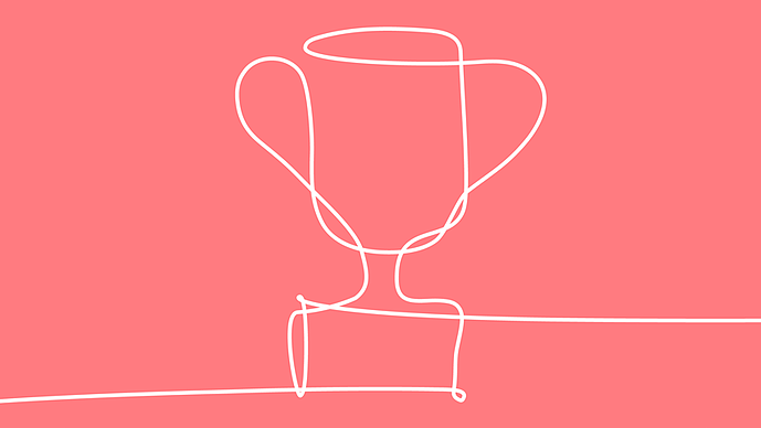 Solverboard trophy drawing