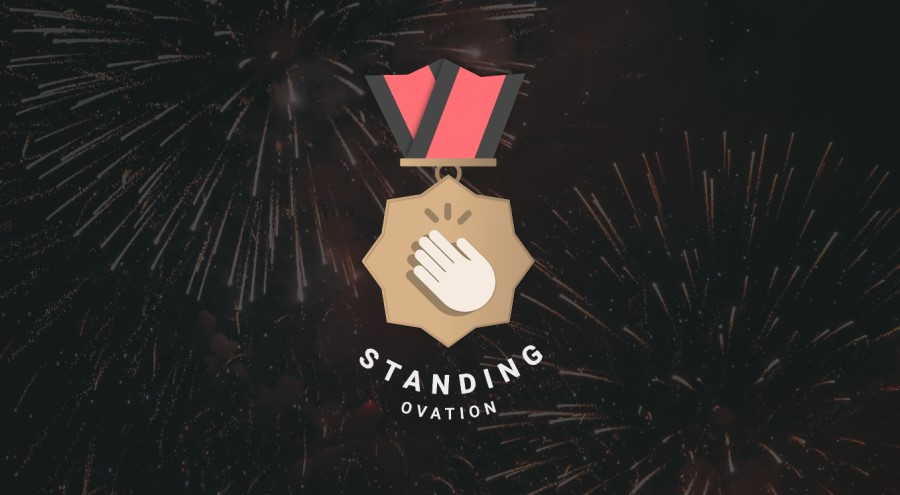 Standing Ovation fireworks