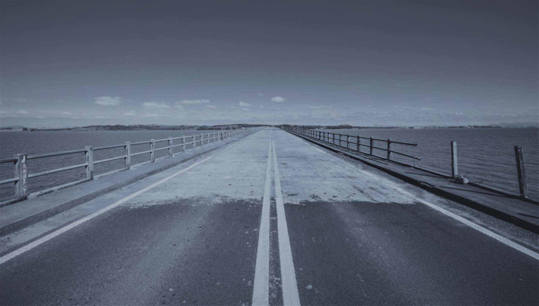 bridge across the water