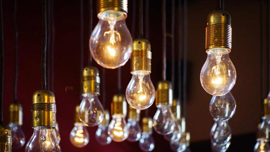 Are you in idea debt? A number of light bulbs.
