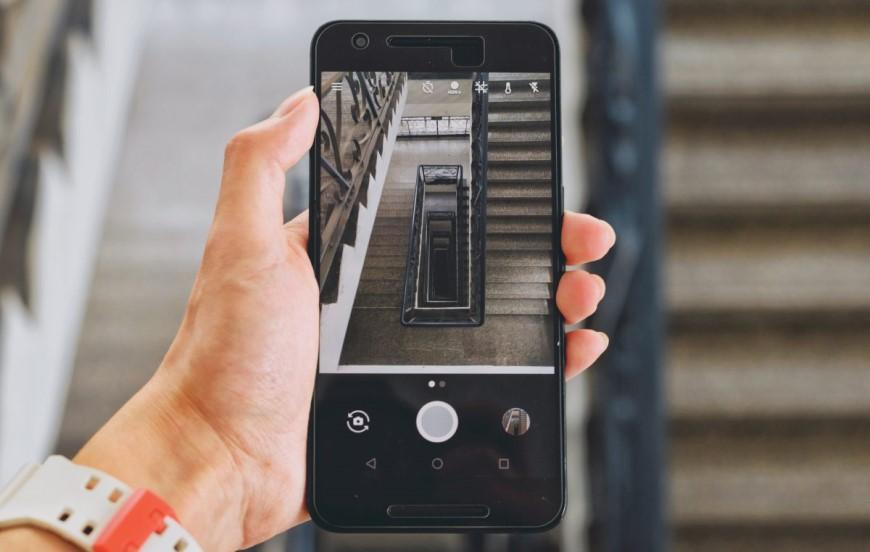 phone stairs