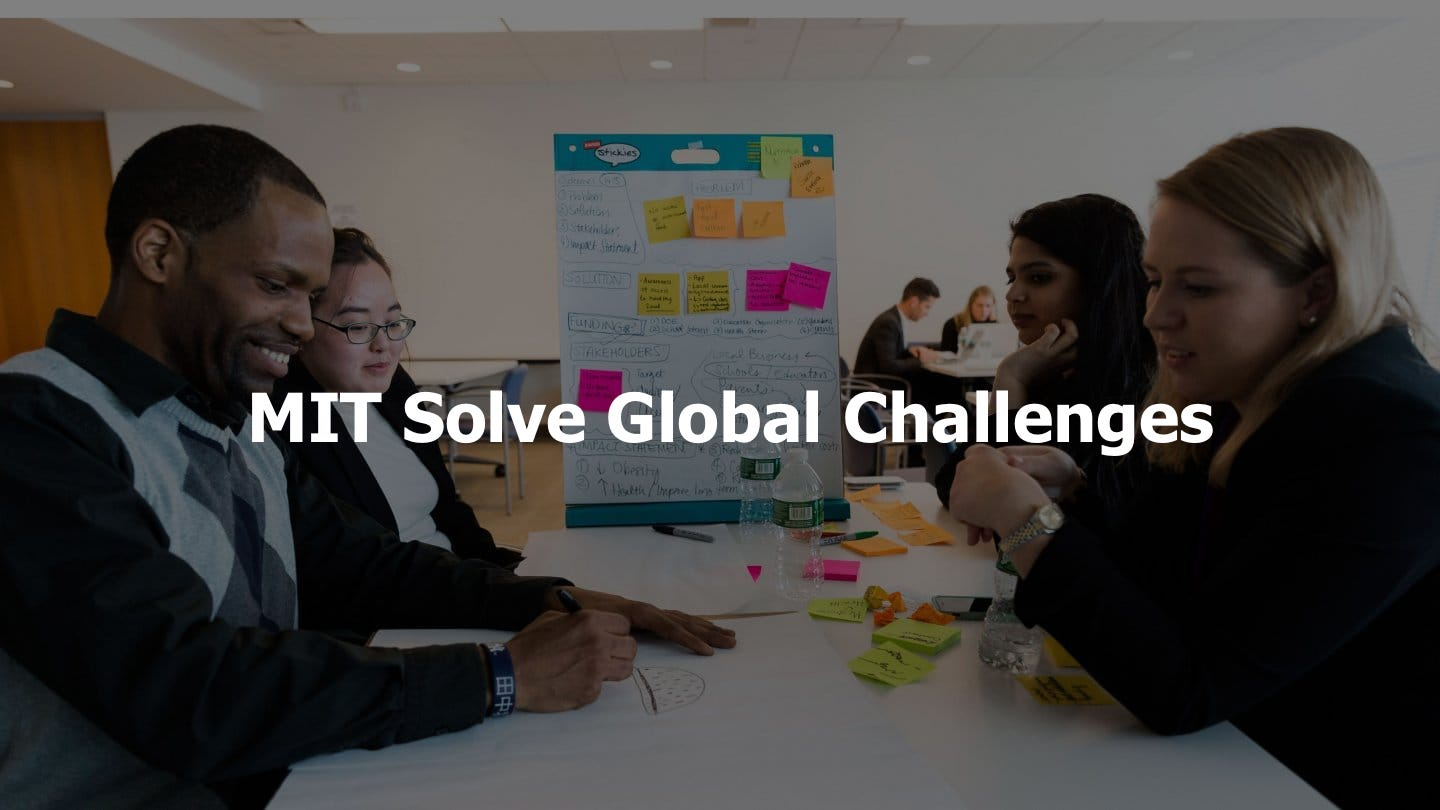 MIT Solve – can technology help create the future of work?
