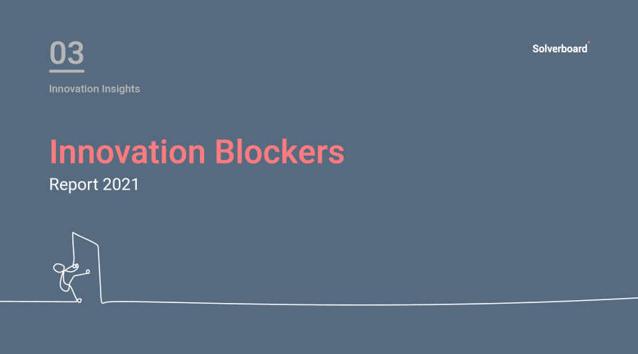 Innovation Blockers Report 2021 cover